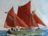 Pam Evans - tan sails