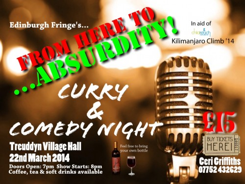 curry & comedy poster