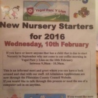 Coffee Morning for Nursery Starters - Wed 10th Feb