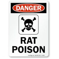 Rat Poison caution
