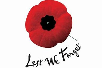Remembrance Service - Sunday 10th November 10:15am